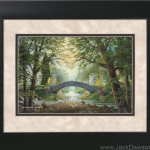 Two Shall Become One - 11x14 Framed by Jack E. Dawson