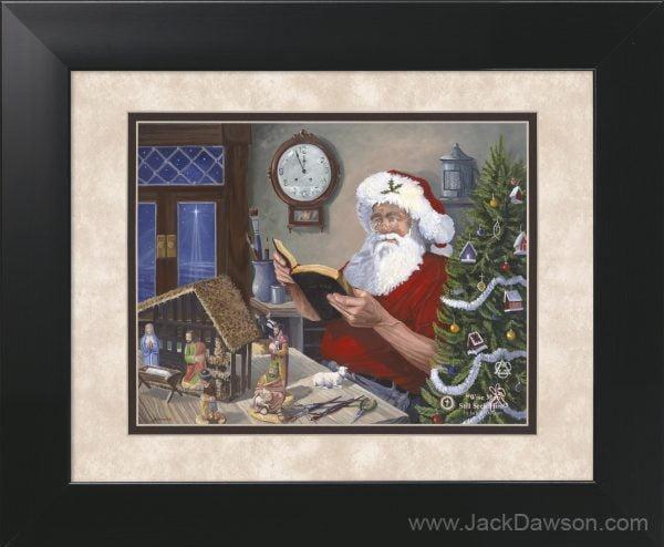 Wise Men Still Seek Him by Jack E. Dawson - 11x14 Framed