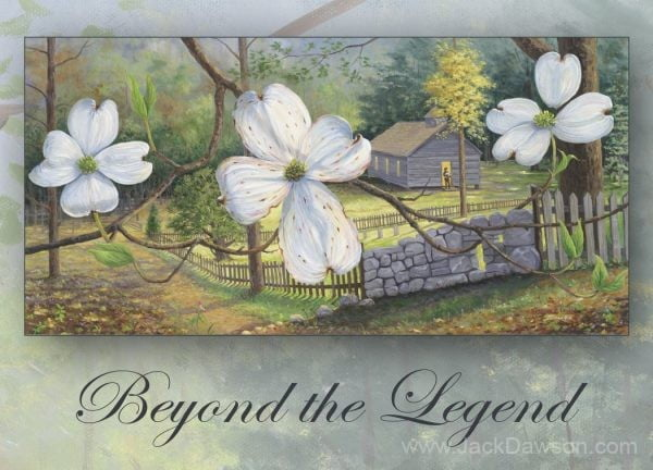 Beyond the Legend 5x7 Card Inside