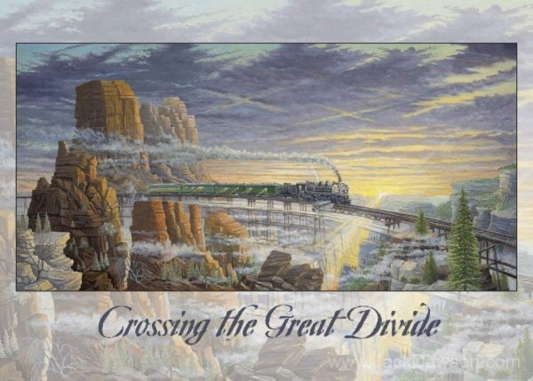 Crossing the Great Divide - 5x7 Card Inside