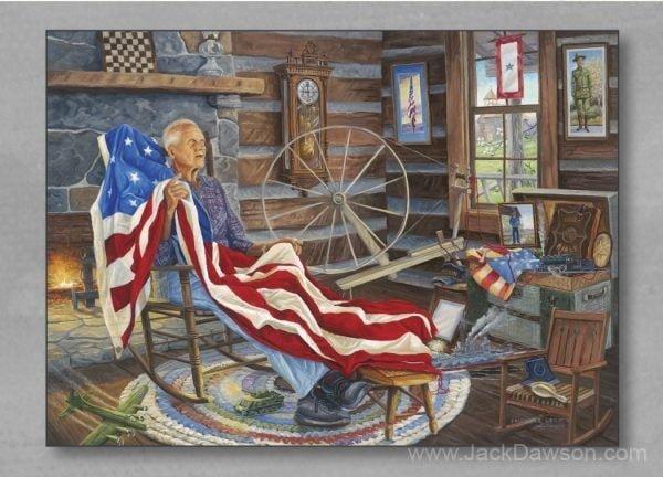 Freedom's Legacy 5x7 Card Inside