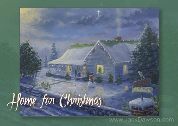 Home for Christmas 5x7 Card Inside