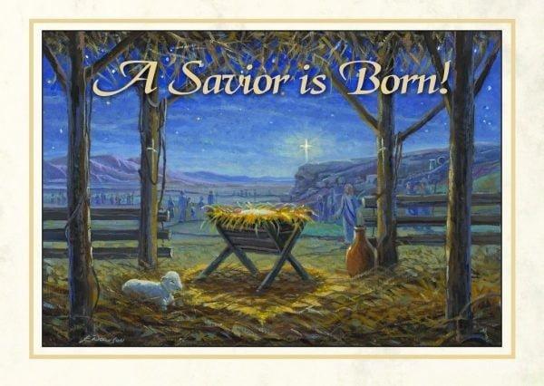 The Baby Jesus - 5x7 Card Inside