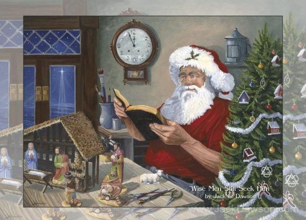 Wise Men Still Seek Him - 5x7 Card Inside