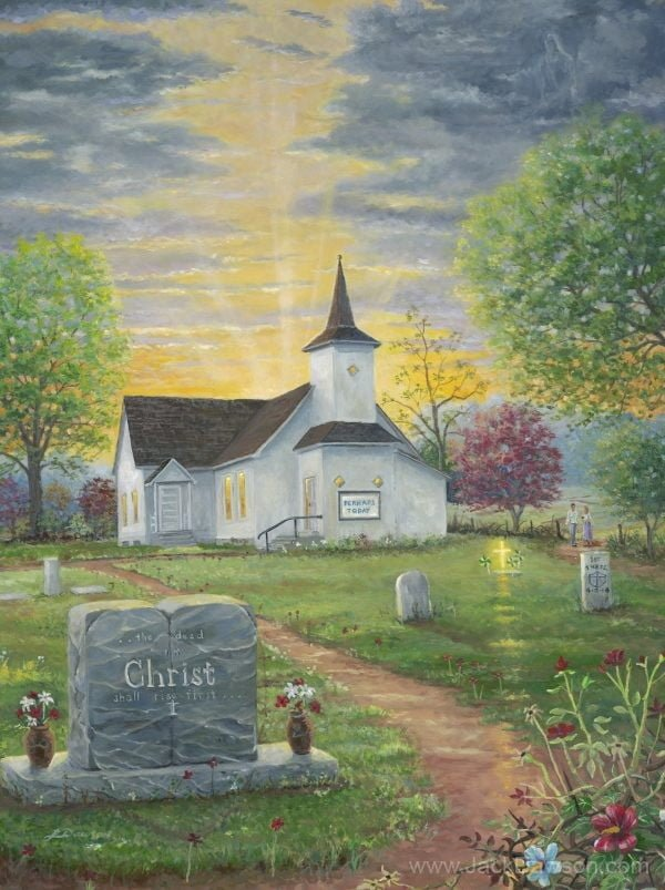 Glorious Expectation by Jack E. Dawson - 120 - 9x12 with UPC - Card Front