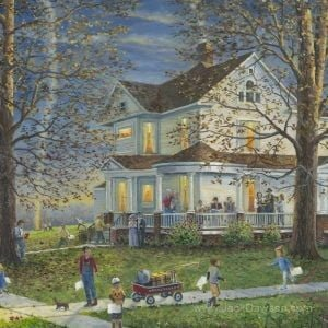 Lights of Home by Jack E. Dawson - 121 - 5x7 - Card Front