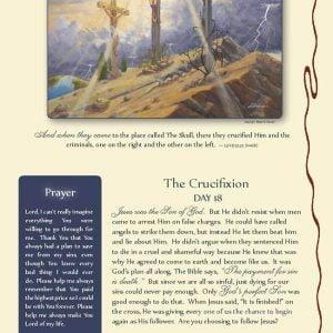 The Passion Tree Daily Advent Calendar by Jack E. Dawson