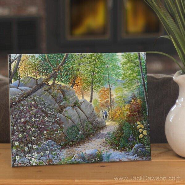 Seasons by Jack E. Dawson - 096 - 8x10 Ceramic Tile