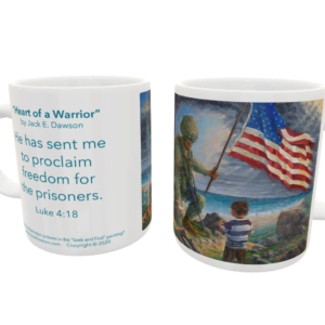 Heart of a Warrior by Jack E. Dawson - 099 - 11oz mug