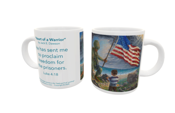 Heart of a Warrior by Jack E. Dawson - 099 - 11oz mug