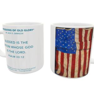 Impressions of Old Glory by Jack E. Dawson - 083 - 11oz mug