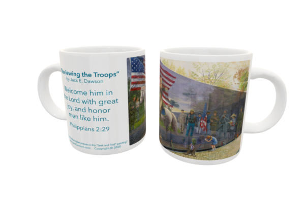 Reviewing the Troops by Jack E. Dawson - 053 - 11oz mug