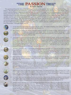 Passion Tree by Jack E. Dawson - 9x12 Card Inside 2